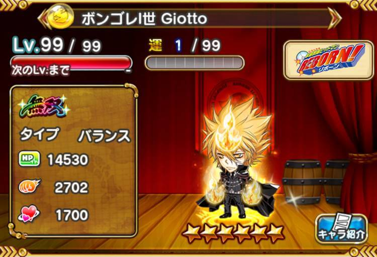 Giotto【ボンゴレI世】
